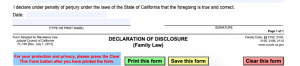 FL 140 and Declaration of Disclosure: Transparency in CA Divorce